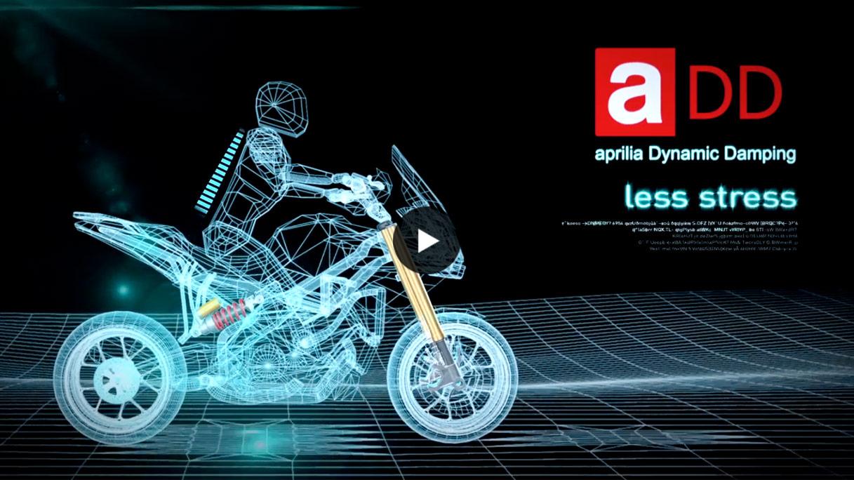 Descubre más de la Tecnología ADD - Aprilia Dynamic Damping
